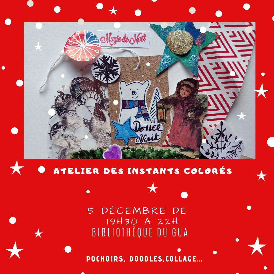 art journal noel biblio